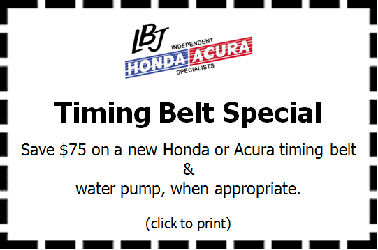Honda Acura Repair Coupons Melrose MA Stoneham Wakefield Saugus - Acura coupons oil change